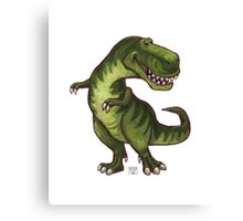 Animal Parade Tyrannosaurus Canvas Print