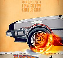 Back to the Future - Movie Poster Part 1 by HDMI2K