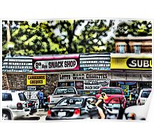 8th Avenue Snack Shop Poster