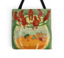 Gold Fish Tote Bag