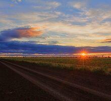 Sunset Road-0956 by Barbara Harris