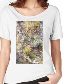Portrait Yin Yang Women's Relaxed Fit T-Shirt