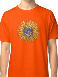 Sunflower Earth Classic T-Shirt
