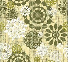 Abstrace Floral Circles 2 by SpiceTree