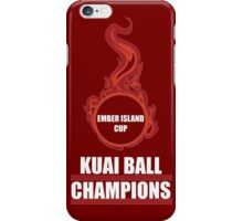 Kuai Ball Champions iPhone Case/Skin