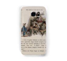 The Queen of Pirate Isle Bret Harte, Edmund Evans, Kate Greenaway 1886 0056 Gunpowder Samsung Galaxy Case/Skin