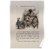The Queen of Pirate Isle Bret Harte, Edmund Evans, Kate Greenaway 1886 0056 Gunpowder Poster