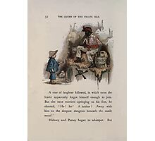 The Queen of Pirate Isle Bret Harte, Edmund Evans, Kate Greenaway 1886 0056 Gunpowder Photographic Print