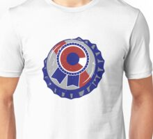 Colorado Blue Ribbon Bottle Cap - Classic Unisex T-Shirt