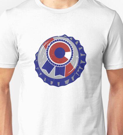 Colorado Blue Ribbon Bottle Cap - Classic Unisex T-Shirt