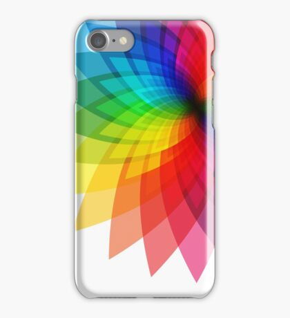Rainbow Flower iPhone Case/Skin