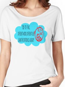 TOO, TO, TWO Women's Relaxed Fit T-Shirt