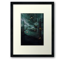 In the Woods Tonight Framed Print