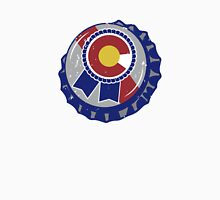 Colorado Blue Ribbon Bottle Cap Unisex T-Shirt