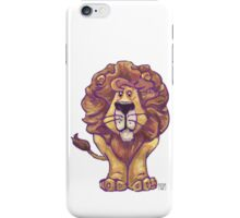 Animal Parade Lion Silhouette iPhone Case/Skin