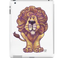 Animal Parade Lion Silhouette iPad Case/Skin