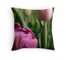 Tulip Towers - Longwood Gardens USA Throw Pillow