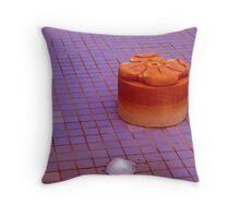 Winter Fountain - Longwood Gardens USA Throw Pillow