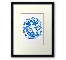 Mermaid Press Framed Print