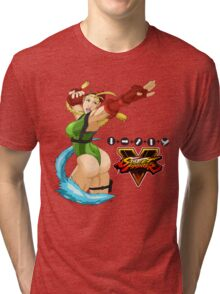Street Fighter 5: Cammy Tri-blend T-Shirt