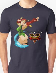 Street Fighter 5: Cammy Unisex T-Shirt