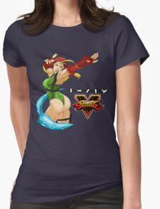 Street Fighter 5: Cammy Womens Fitted T-Shirt