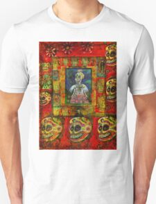 Angel Goth Girl day of the dead T-Shirt