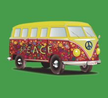 PEACE Van Art by tshirtdesign