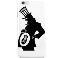 USA Imperialism, Illustration Silhouette iPhone Case/Skin