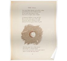 Rhymes for the Young Folk William and Hellen Allingham art Kate Greenaway 0069 The Ball Poster
