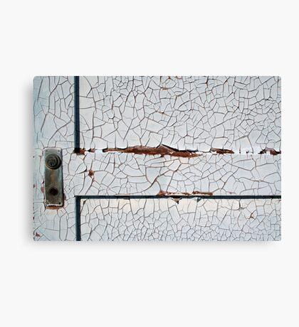 White Decay Canvas Print