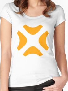 Unspecified Games Orange Logo Women's Fitted Scoop T-Shirt