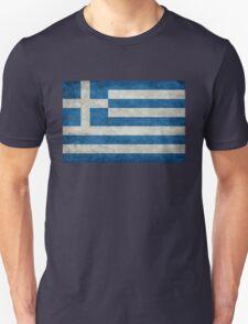 Flag of Greece - Retro vintage T-Shirt