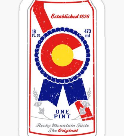 Colorado Blue Ribbon Sticker
