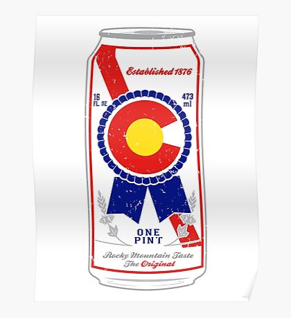 Colorado Blue Ribbon Poster