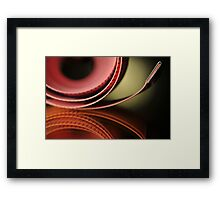 Metric System Framed Print