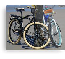 BICYCLES, BICYCLES Metal Print