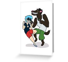 Werewolf Party Greeting Card