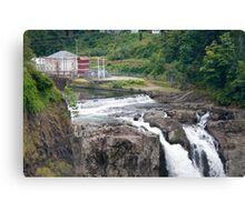 Snoqualmie Falls Hydroelectric Plant Canvas Print