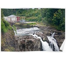 Snoqualmie Falls Hydroelectric Plant Poster