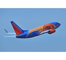 Southwest Airlines NBA Slam Dunk  Photographic Print