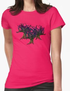 Mystic Trees Womens Fitted T-Shirt