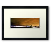 Edge of Town Framed Print