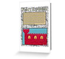 fort lytton Greeting Card