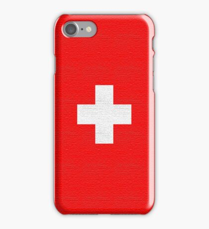 Flag Switzerland iphone iPhone Case/Skin