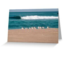 Perfix Beach Greeting Card