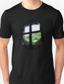 spattered window Unisex T-Shirt