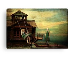 Break Through and Fly Canvas Print