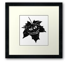 Cheshire Leaf Framed Print