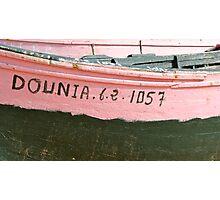 Boat Hull 3 Photographic Print